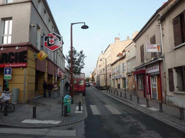 Pierrefitte Centre (Jean Vilar/Fontaine Rosée/Rue de Paris)