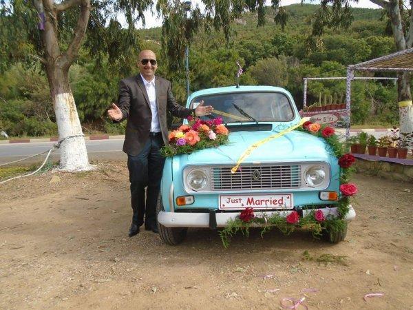 Jour de mariage mon ami hamid mai 2016