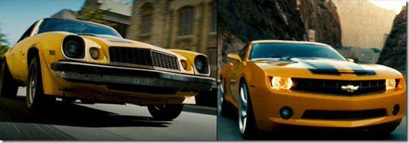 Sélection de voitures du cinéma