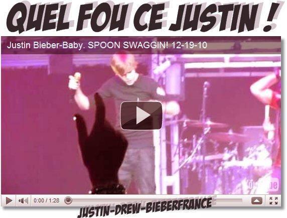 . ♥ 12/22 . Justin... EST FOU !  .