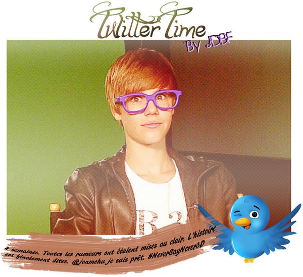 Justin a posté une nouvelle photo il y'a quelques heures sur son twitter :)