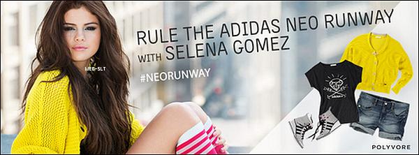 Notre fabuleuse Selena, a réalisé un shooting pour la collection d'Adidas, NEO. Sel est tout simplement m a g n i f i q u e. Qu'en pensez vous?