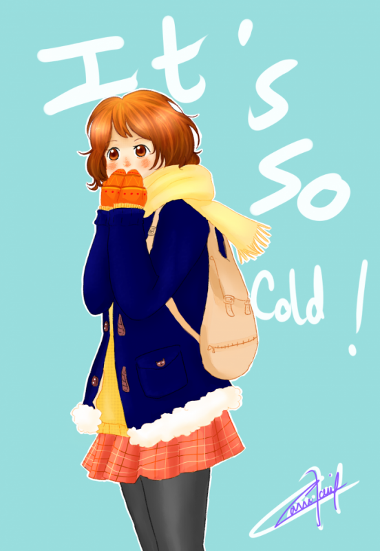 It's so cold !
