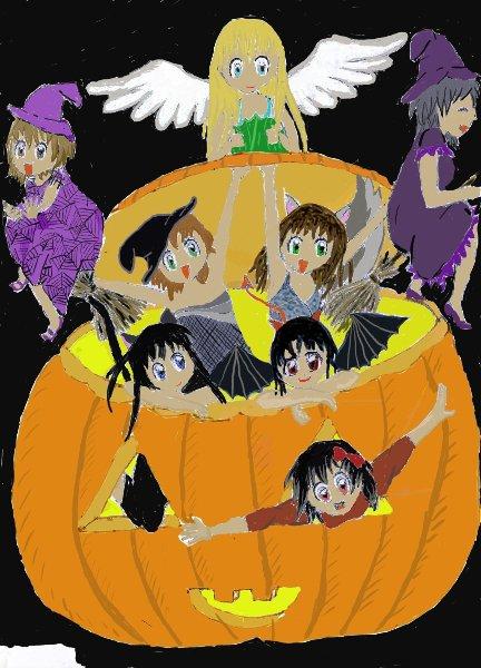 Dessin Halloween pour le concours de Euro1