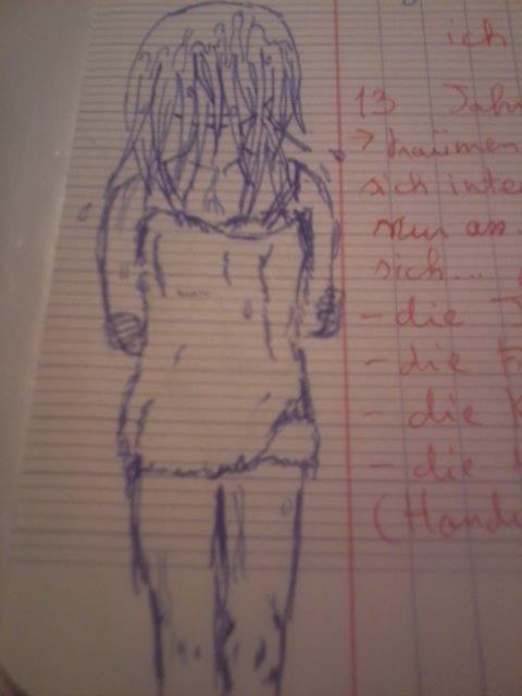 En cours d'allemand...