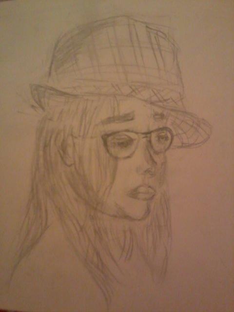 Portrait de ma soeur-depressif