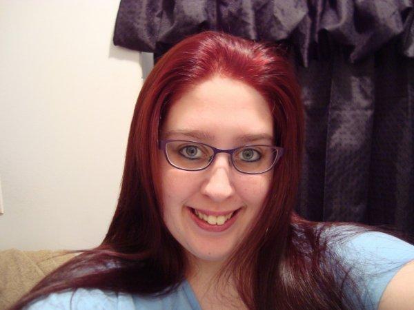 Moi en rouge:)