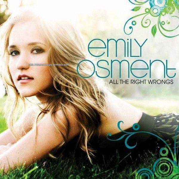 . Retrouve Emily sur EmilyOsmentNews.. All the right wrongs est un EP interprété par Emily Osment et enregistré chez Wind-Up Records, car elle a décliné l'offre d'Hollywood records. Il est sorti le 26 octobre 2009 aux Etats-Unis et s'est écoulé avec + de 400 000 copies dans le monde. Le genre de musique est l'Indie rock. Un premier extrait, All the way up (clip), est sorti pendant l'été 2009. Un second extrait, You are the only one (clip) , du extended play est sorti début 2010. Peu après la sotie du second single, Emily dévoile 2 nouveaux titres sur la version européenne: One of those days et Unaddicted. Cependant, aucune version deluxe/platinium n'existe pour le moment.. Lis les analyses d' All the right wrongs (clique) et d' All the way up (clique).. .