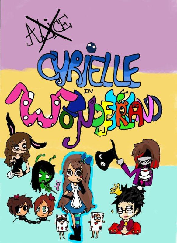 Cyrielle in Wonderland