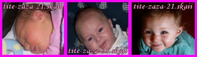 chloé quand elle est bebe