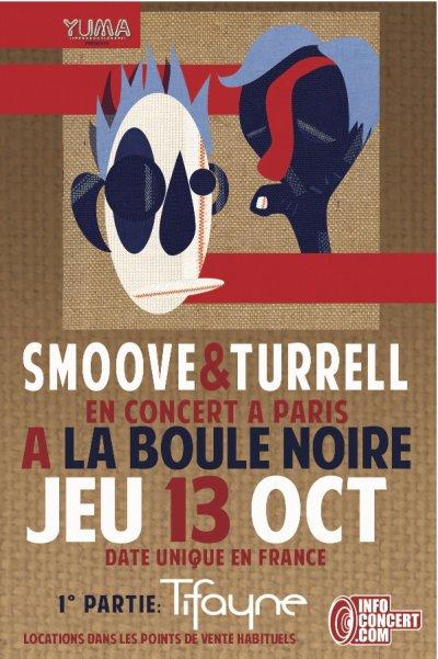 ★ Tifayne 1° partie de Smoove & turrell ★ (Paris) 13 Octobre