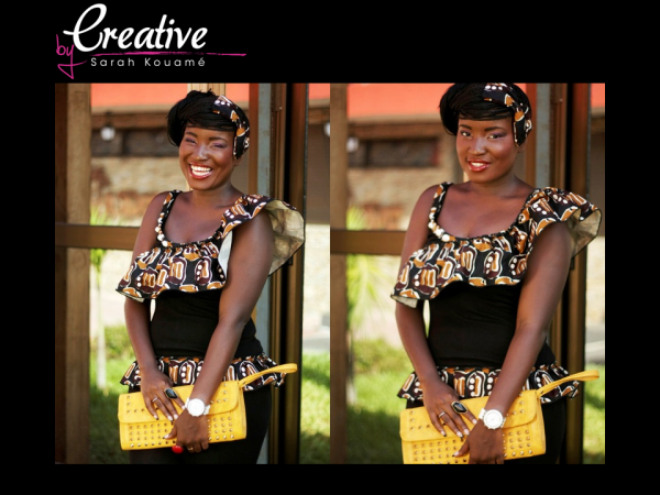 CREATIVE by Sarah Kouame : Collection AFRICAN-SHIRT