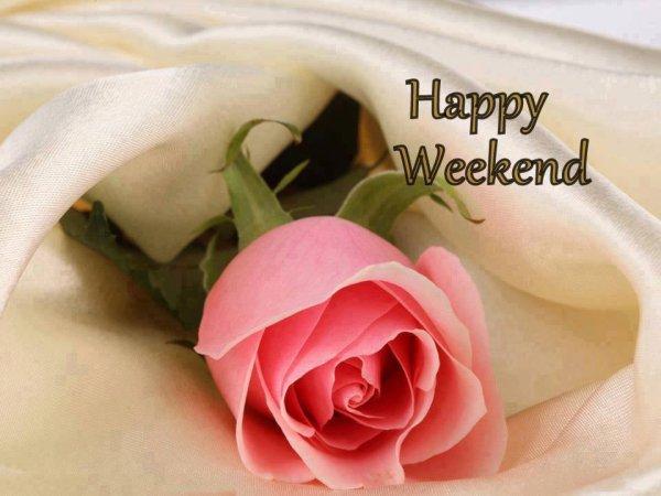 Très bon week-end à vous mes chers amis bisous