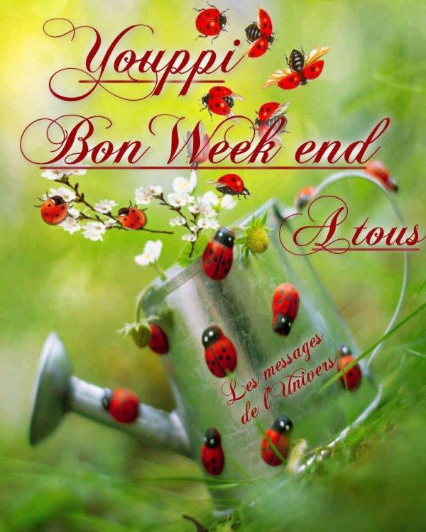 Très bon week-end à vous tous mes amis bisous