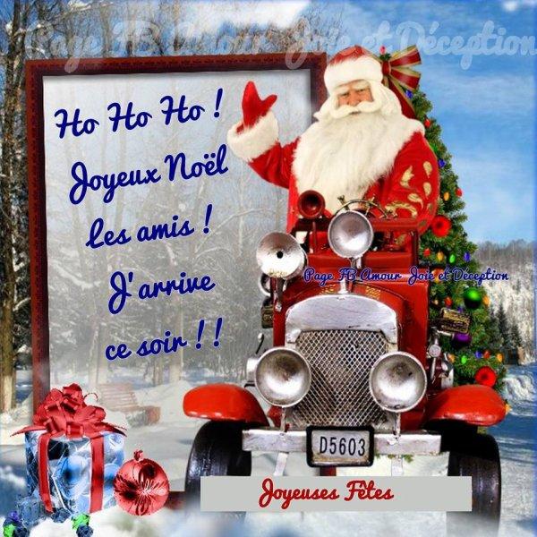 Joyeux Noël à vous mes chers amis