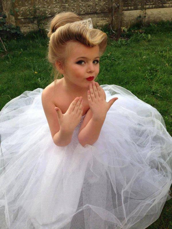 Combien de kiffs pour cette petite princesse?