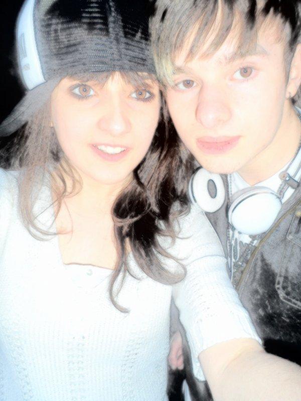 Avec Quentin Mon meilleur ami <3