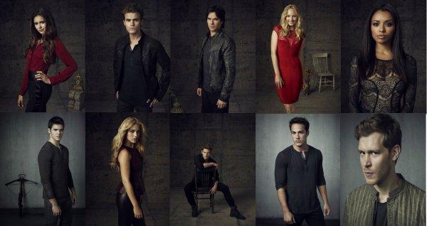 Qui préfère-tu dans The Vampire Diaries ? - Plusieurs choix possibles