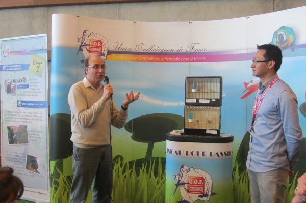 Petite animation faite le 24 février sur le stand de l'UOF au Salon de l' Agriculture