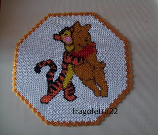 Napperon Winnie Pooh et Tigro!!