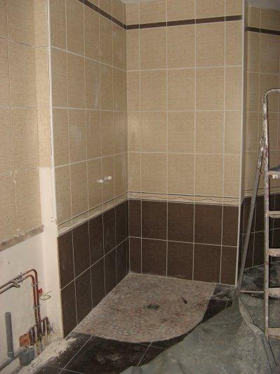 Carrelage et fa ence salle de bain construction 22 et for Photo faience salle de bain