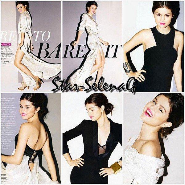 Nouveau photoshoot de Selena pour le magazine InStyle