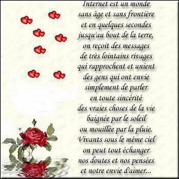 Merci à Mon Amie Canari182 Pour Ce Joli Message Damitié
