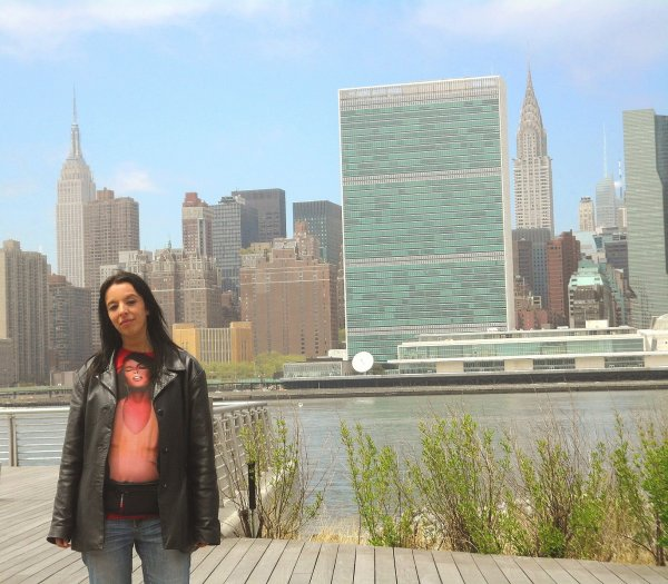 The Revlon Run Walk for women 2013! And New York has my heart forever.....