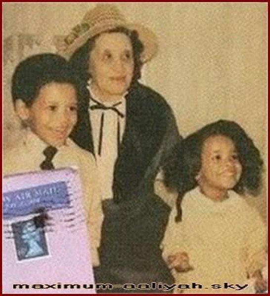 Aaliyah, Rashad et leur grand-mère Mintis