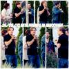 """CANDIDS // Le 26 Aout Léo et ses amis (Tobey Maguire et Lukas Haas) ont été vus à Vancouver (Canada). Ils travaillent sur le film """"Red Riding Hood"""" produit par la compagnie de Léo."""