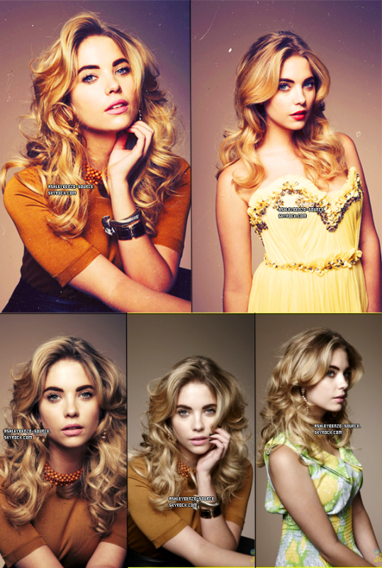 Photos d'Ashley & Nessa sur twitter + photos des pll's sur le twitter de Lucy + photoshoot d'Ashley