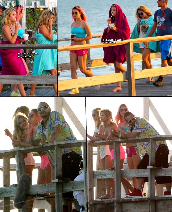 Les filles sur le tournage de SB en Floride