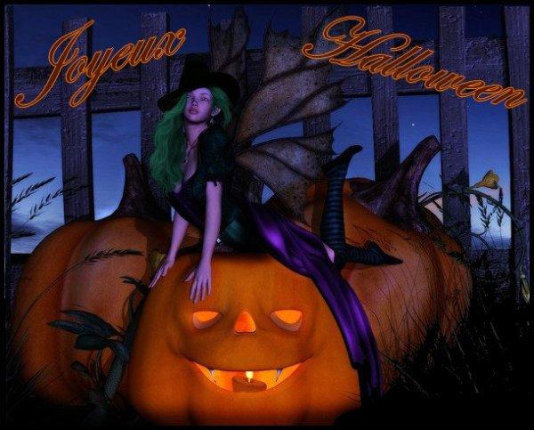 joyeux halloween a toutes et a tous