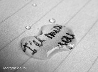 Tu es ma moitié ; Mon second souffle ; Ma force et Mon courage ; Mon amour et ma rage …♥