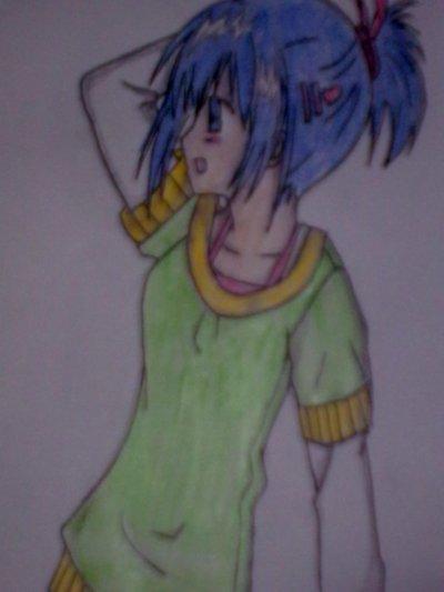 je vais faire une pause pour vous presente des  dessin que j'ai fais