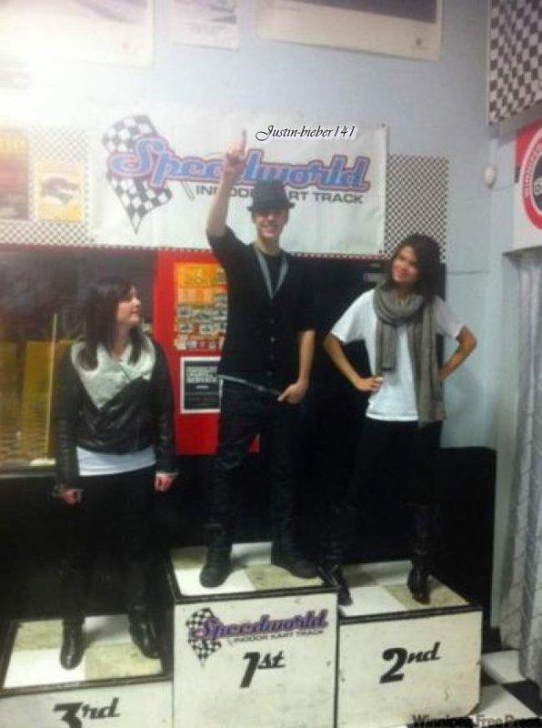 Justin & Selena au Canada