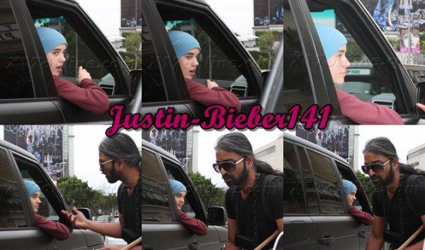 Justin à l'hôpital de LA .