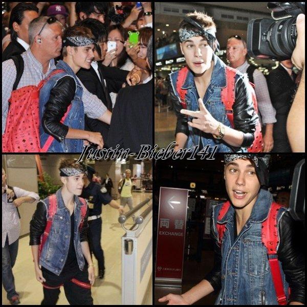 Bieber au Japon