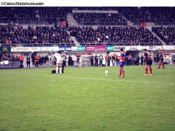 Cab (Brive ) / Stade Toulousain le samedi 26 novembre 2011 ( Top 14 )