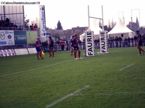 Cab (Brive) / Stade Toulousain samedi 26 novembre 2011 ( Top 14 )  (suite )