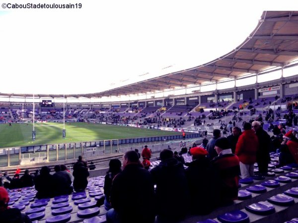Stade Toulousain - Harlequins dimanche 18 décembre 2011 a Toulouse ( H CUP)
