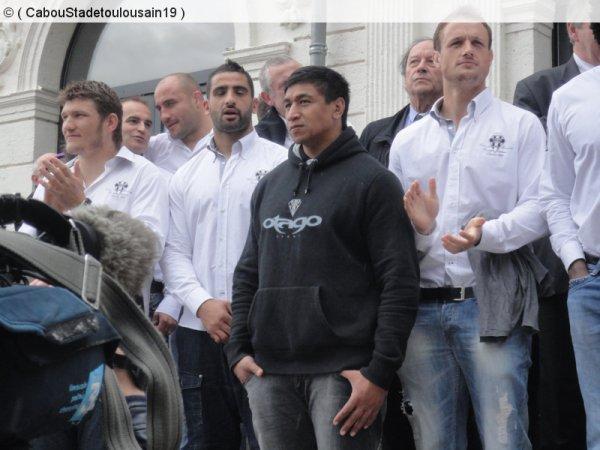 Equipe pro et espoirs a brive le 20 mai 2013