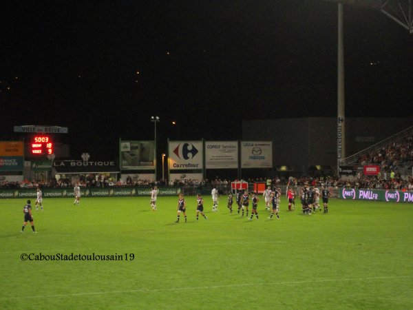 Brive / Bordeaux , Top14 , saiso 2013/2014 ( Parti 2 )