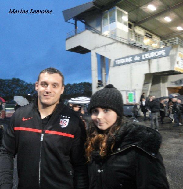 Cab/Stade Toulousain , le 2 novembre 2013 , saison 2013/2014 ( photos avec les joueurs )