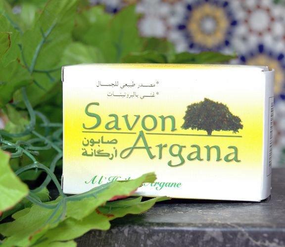 savon a l'huile argan