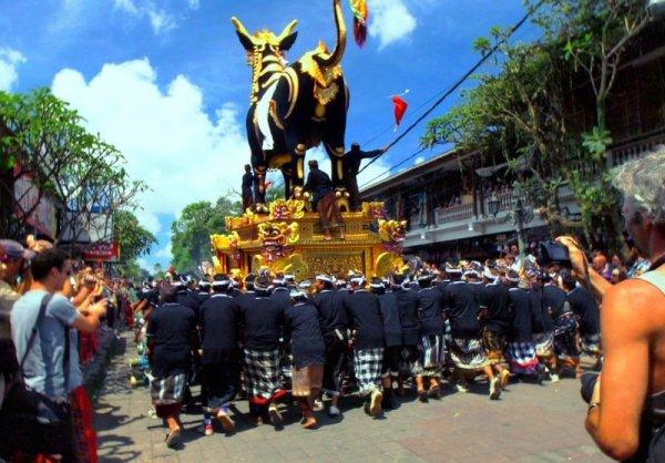 Les crémations (Ngaben) à Bali