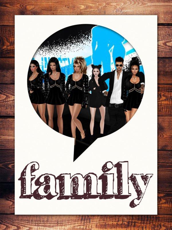 je vous aime fort la famille