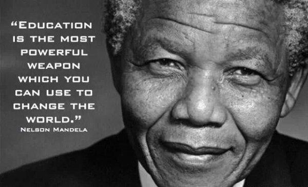 Mon conte historique : « Nelson Mandela, le combattant et le Père de l'Afrique du Sud »