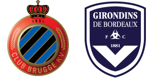 MATCH RETOUR  D'EUROPA LEAGUE BRUGES VS BORDEAUX