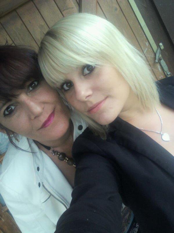 moi et ma fille.♥♥♥